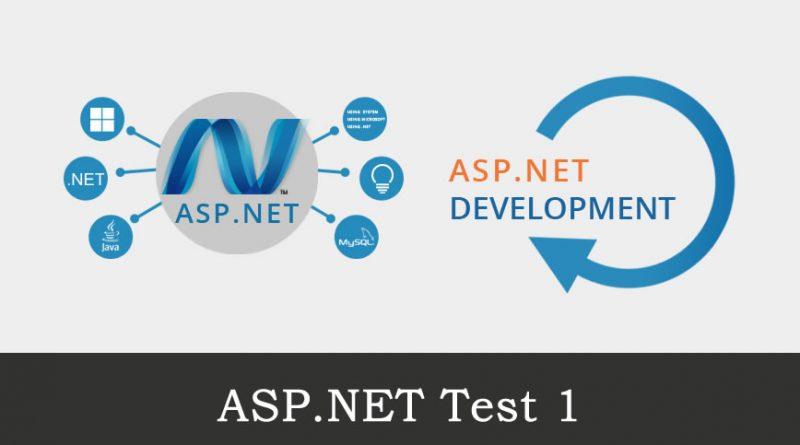 Asp.Net Test 1