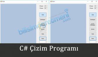 c# cizimprogrami