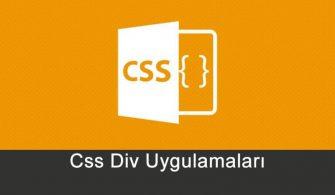 css_div_uygulamalari