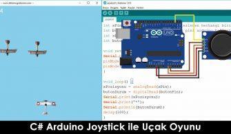 C# Arduino Joystick ile Uçak Oyunu