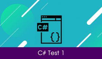 c# Online Test 1