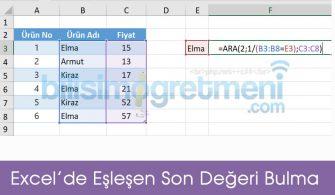 excel_aranan_son_deger