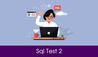 Sql Test Soruları