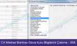 C# Merkez Bankası Döviz Kuru Bilgilerini Çekme - XML