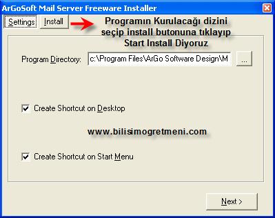Localhostta Php Mail İşlemleri – Mail gönderme