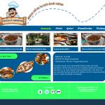 Fireworks ile Web Sitesi (Sayfası) Örneği ( Lokanta Sitesi )